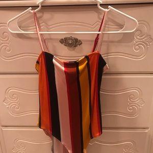 spaghetti strap body suit